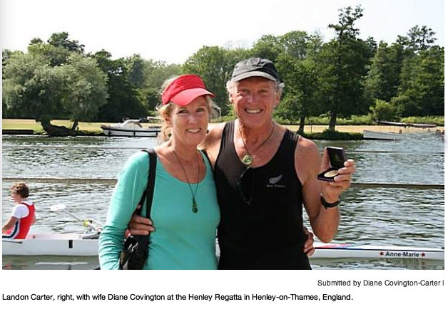Diane Covington-Carter Landon Carter Gold Medal Rowing Falling in Love Backwards